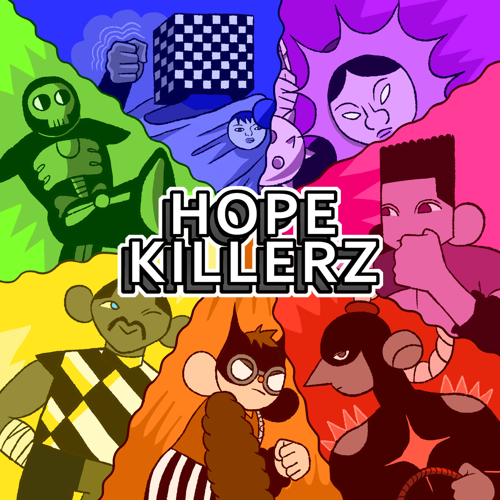 HOPE KILLERZ - Title Card