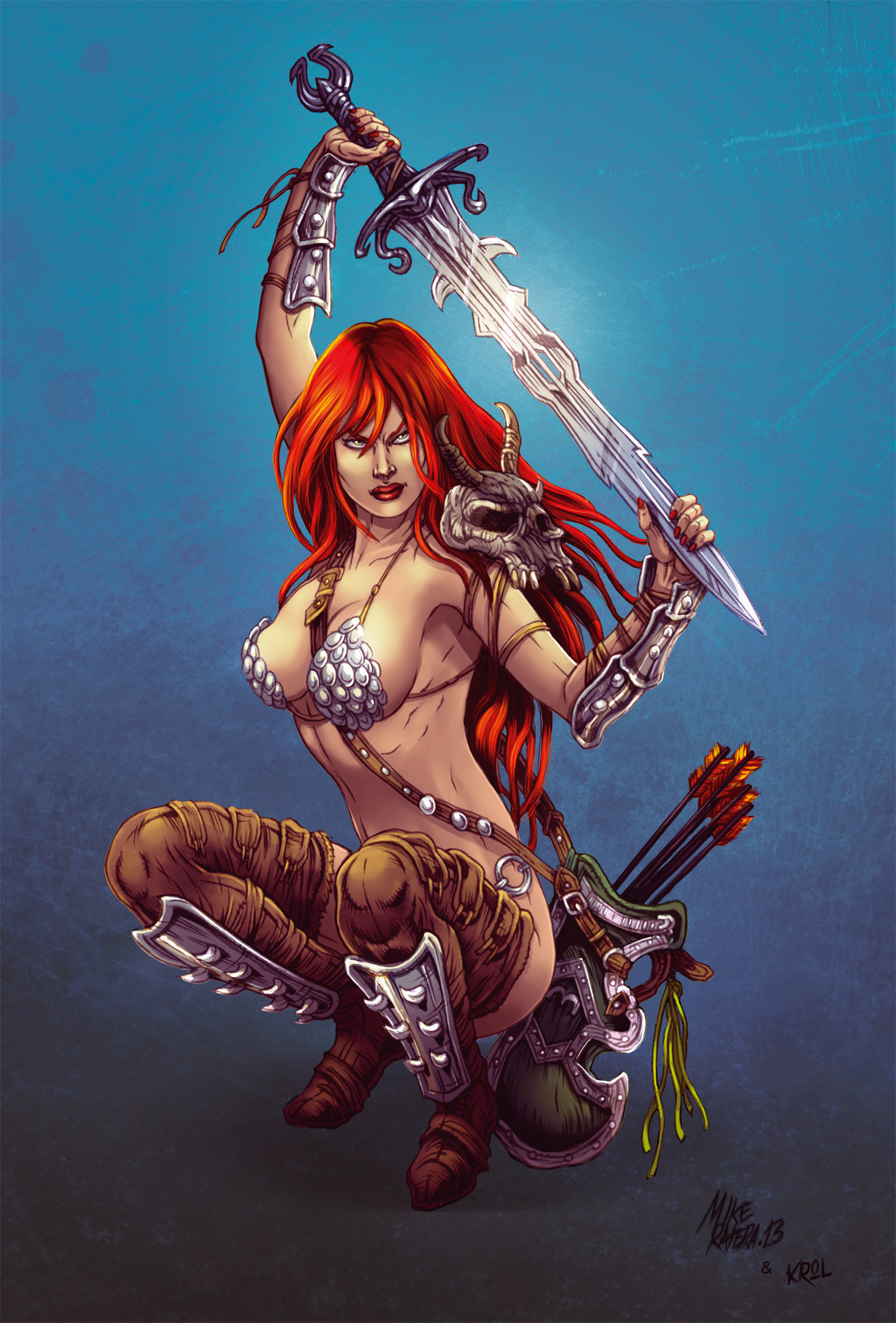 Mike ratera red sonja 06 color