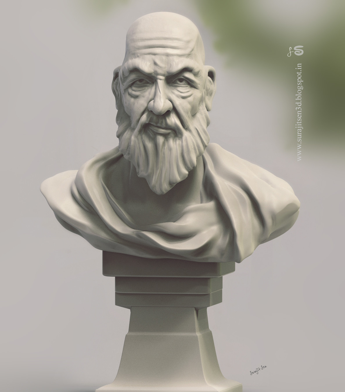 Surajit sen speed sculpt study teacher by surajit sen