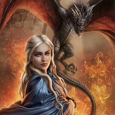 Mike ratera daenerys 1 color