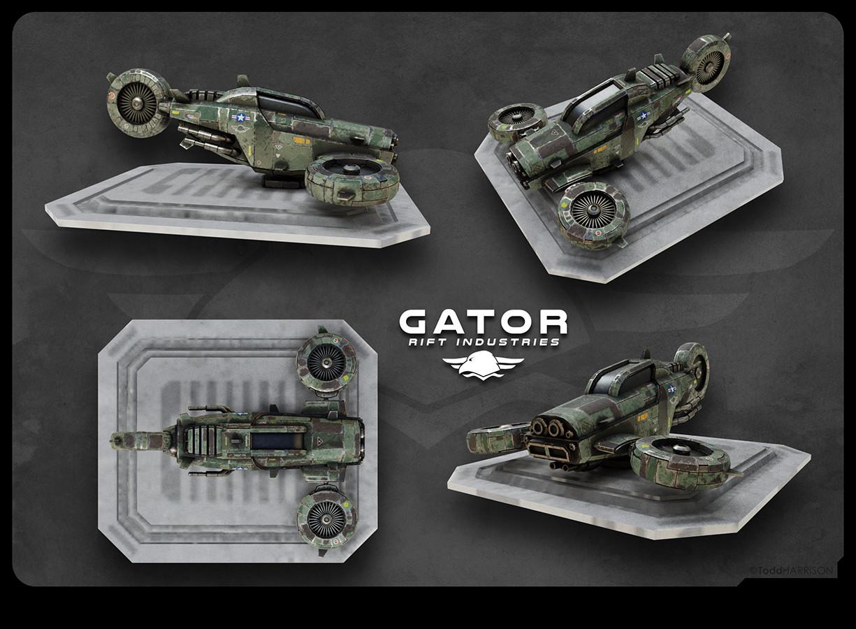 Todd harrison ri gator monopod px 4v web
