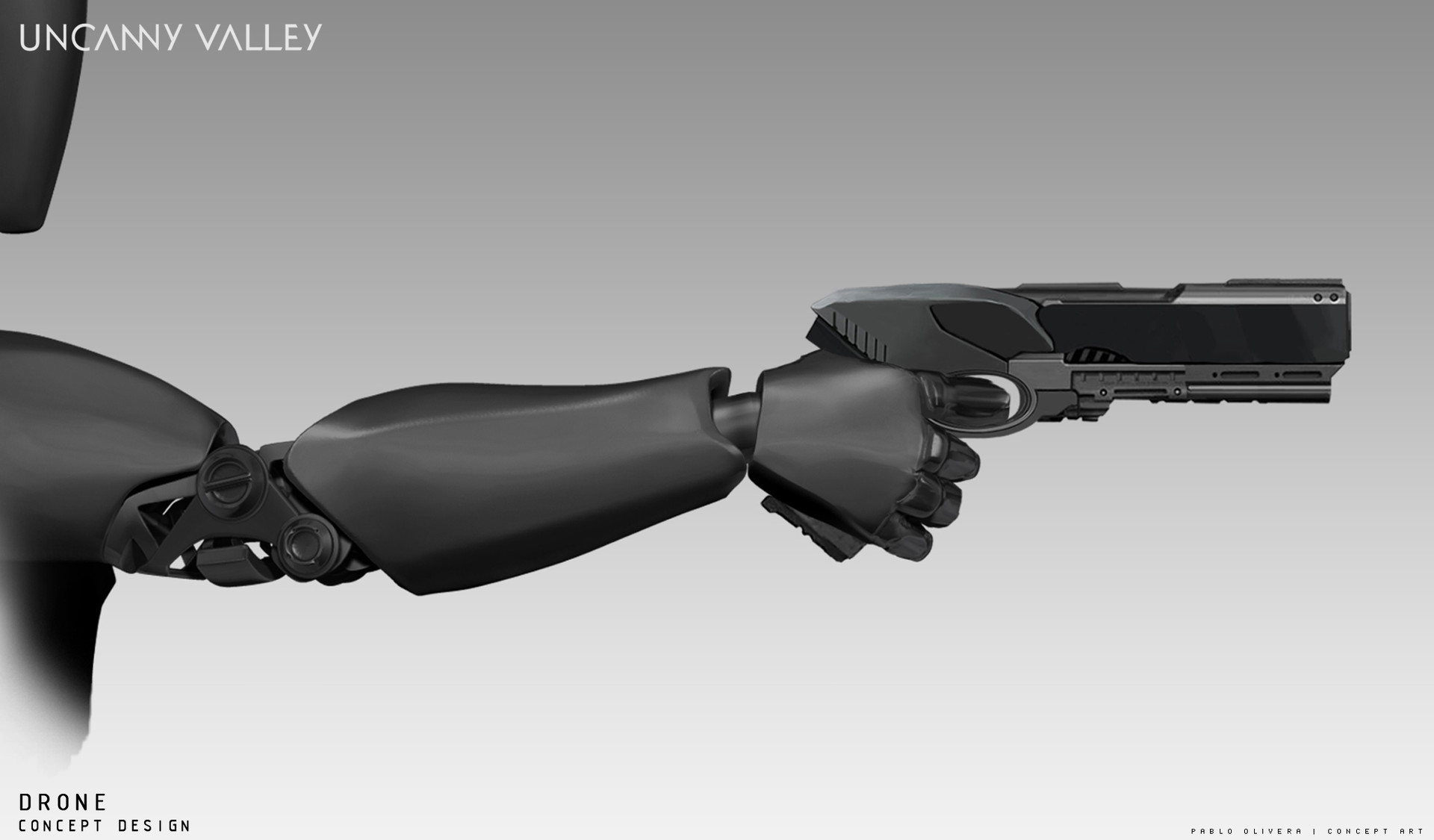 Pablo olivera uncanny valley weapons 09 apuntando
