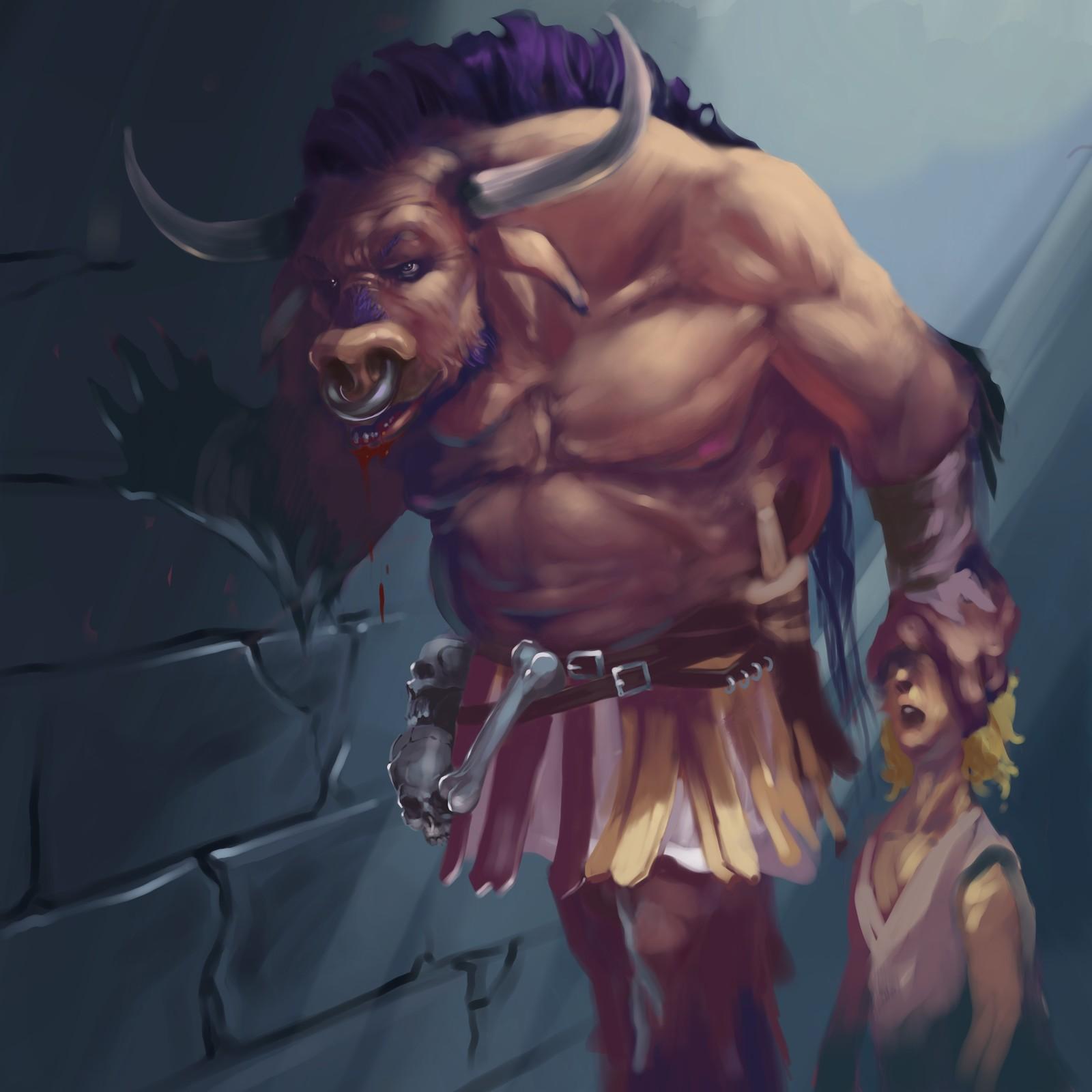 Minotaur rough