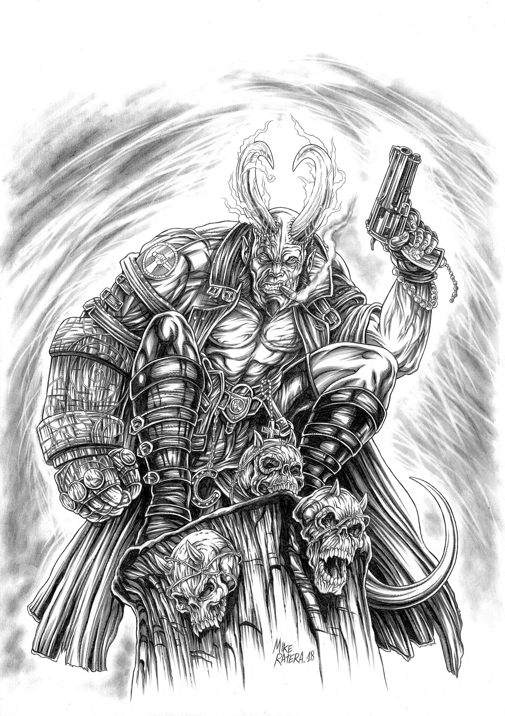 Mike ratera hellboy cover 5