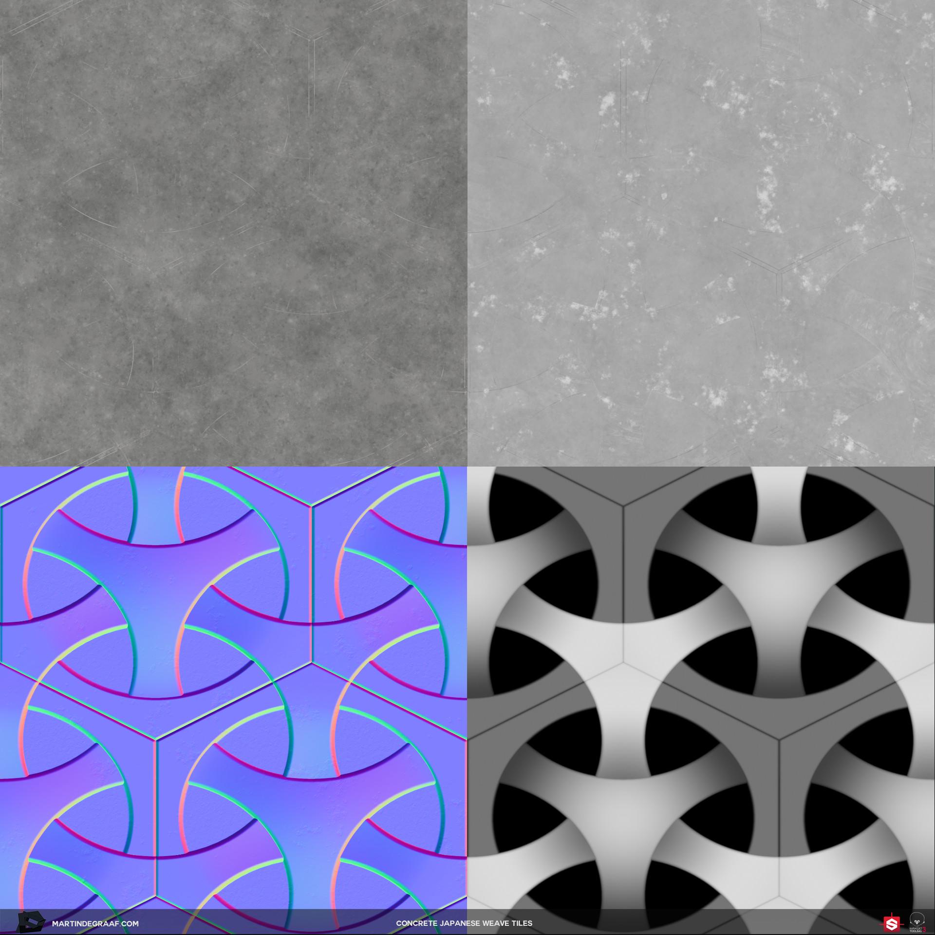 Martin de graaf japanese weave substance texturesheet martin de graaf 2018