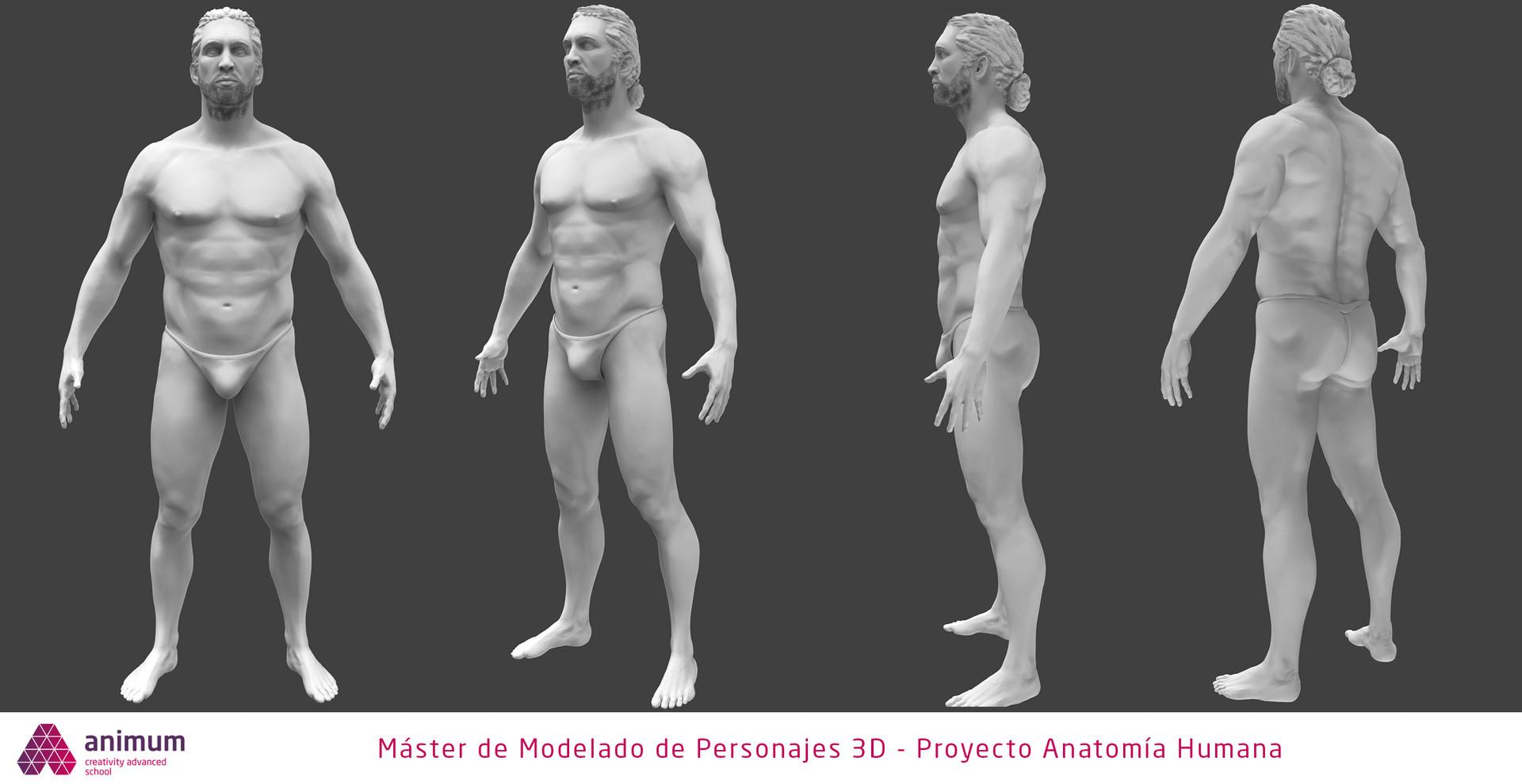 Edgar teba mateo plantilla modelado de personajes 3d anatomiahumana