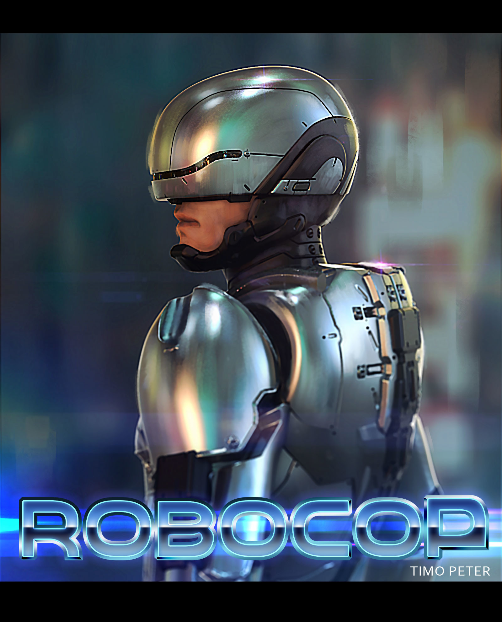 Timo peter robocop backview