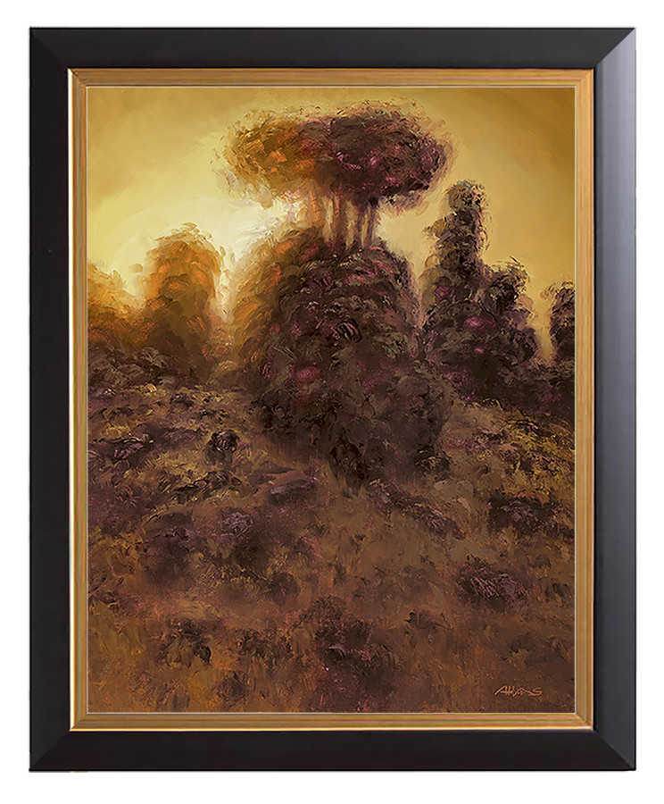 Arthur haas evening glow small framed