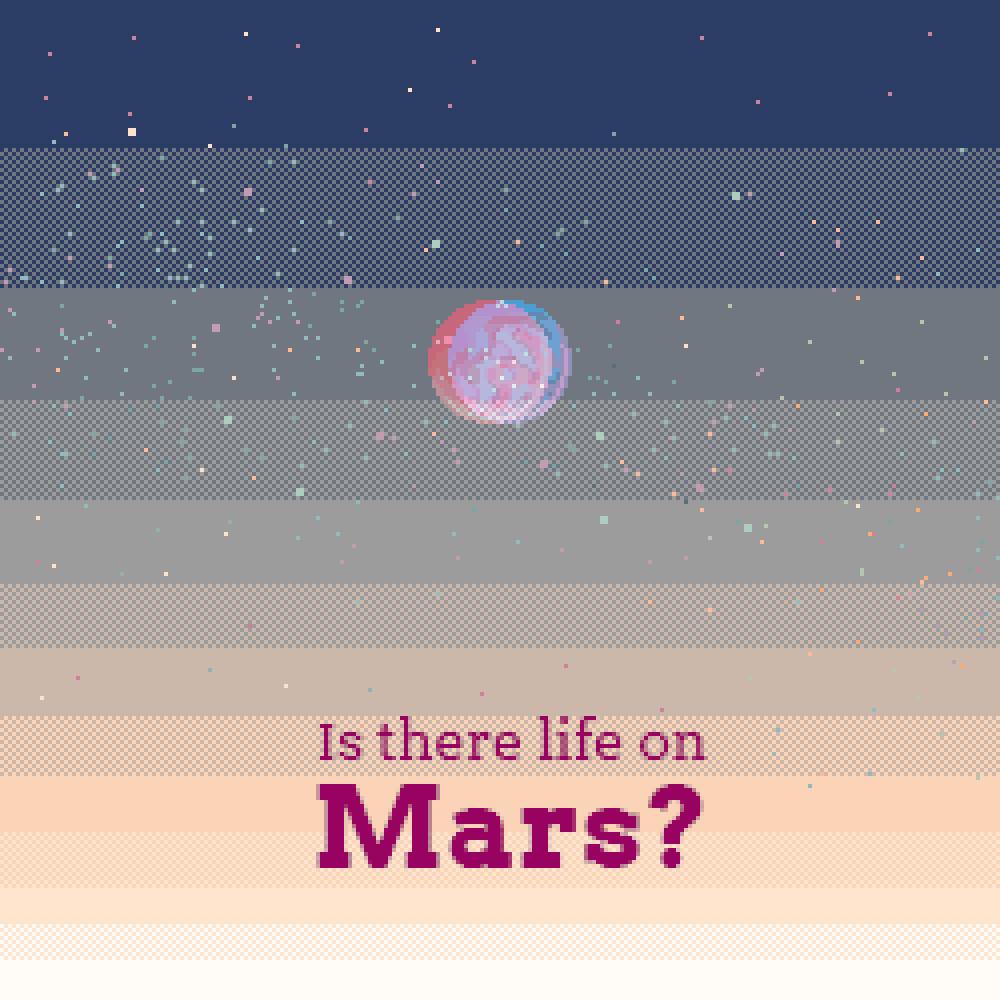 Pixel things #02 // Life on Mars