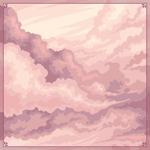 Pixel things #06 // Clouds