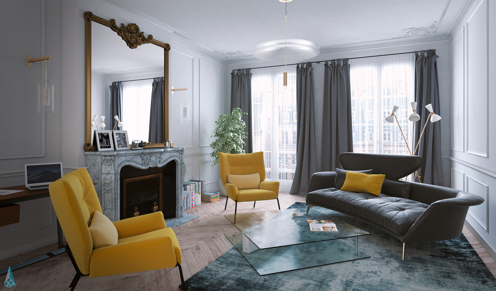 Haussmann Apartment - Paris