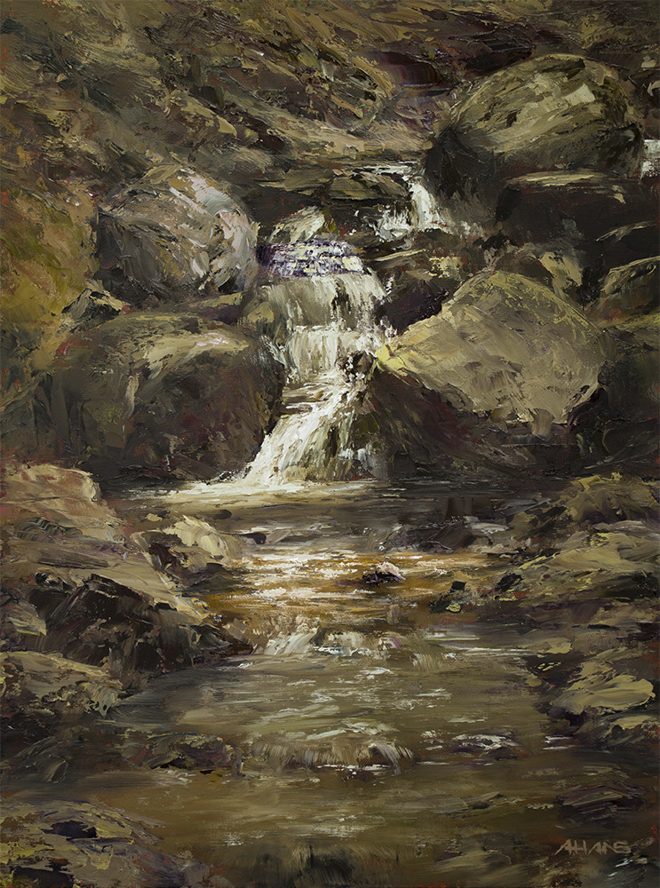 Arthur haas waterfall ii small