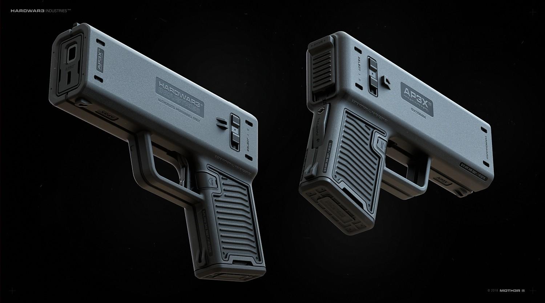 Ivan santic pistol dual c02