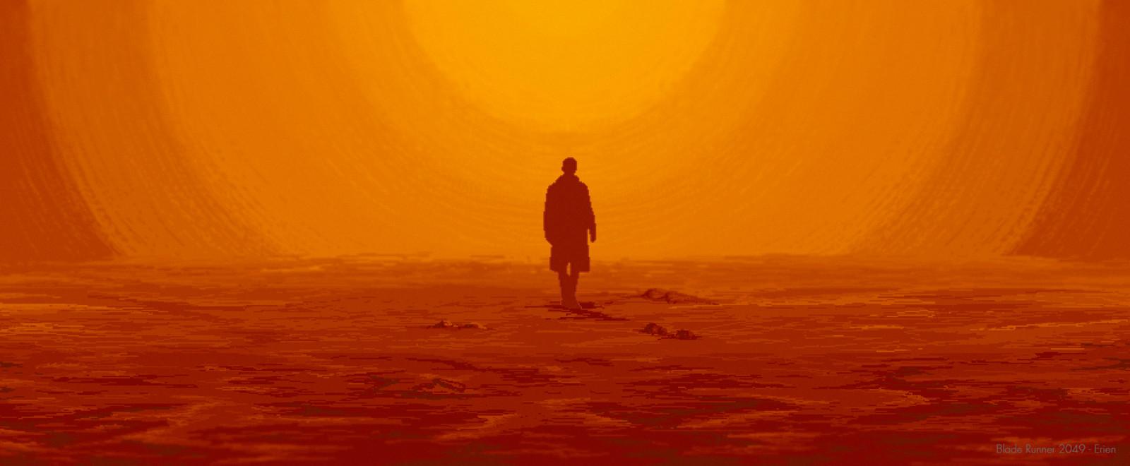 Pixel fanart #11 // Blade Runner 2049