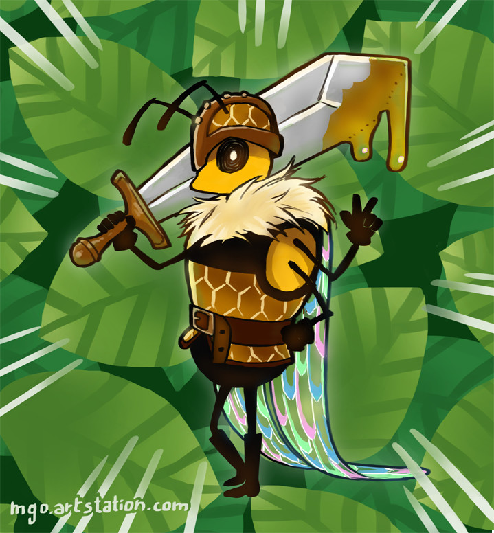 Jesus gormaz honeyguard smol