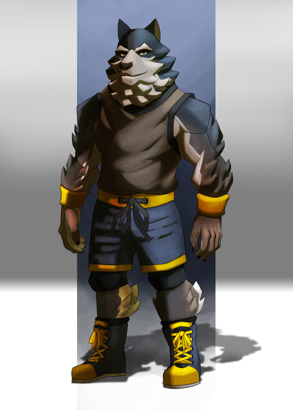 Werewolf Wrestler