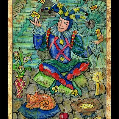 Vera petruk samiramay 0 major arcana tarot card fool