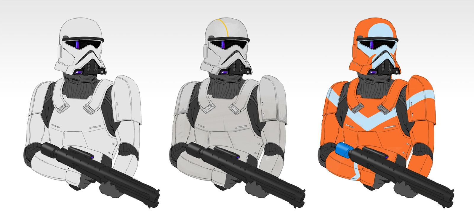 Star Wars stormtrooper redesign
