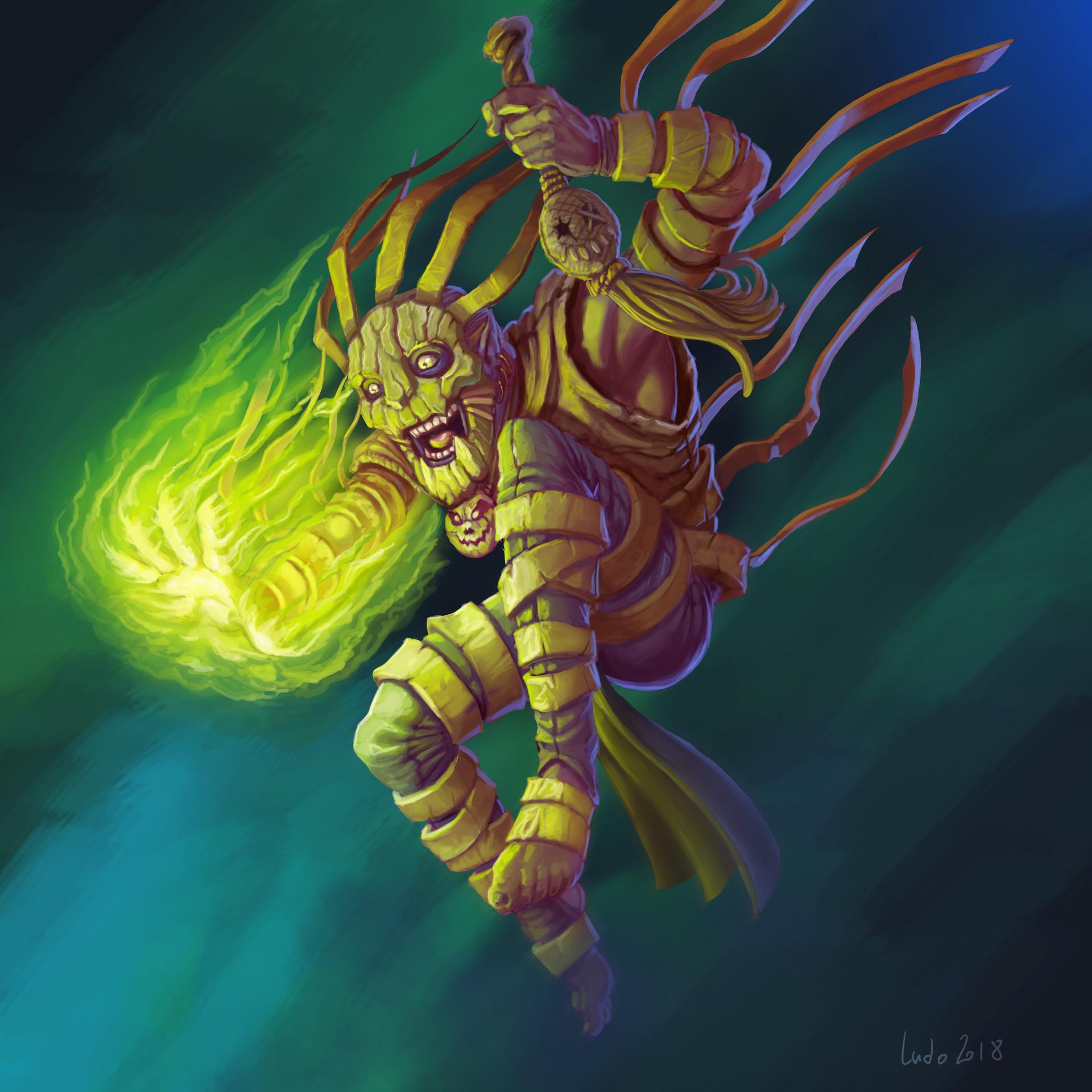 Ludovic rivalland shaman