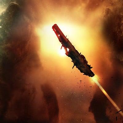 Oleg danylenko red nebula