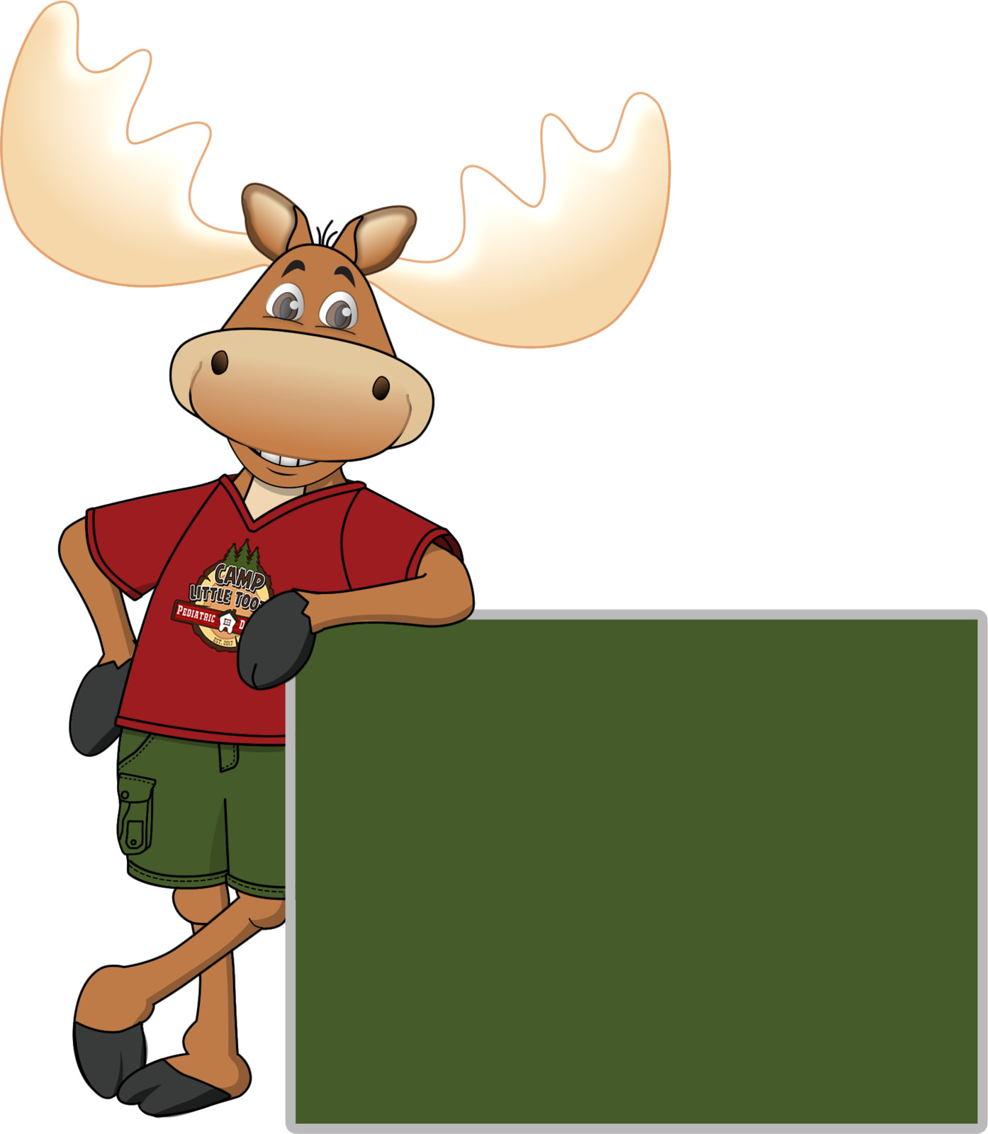 Max the Moose, Camp Little Tooth's mascot