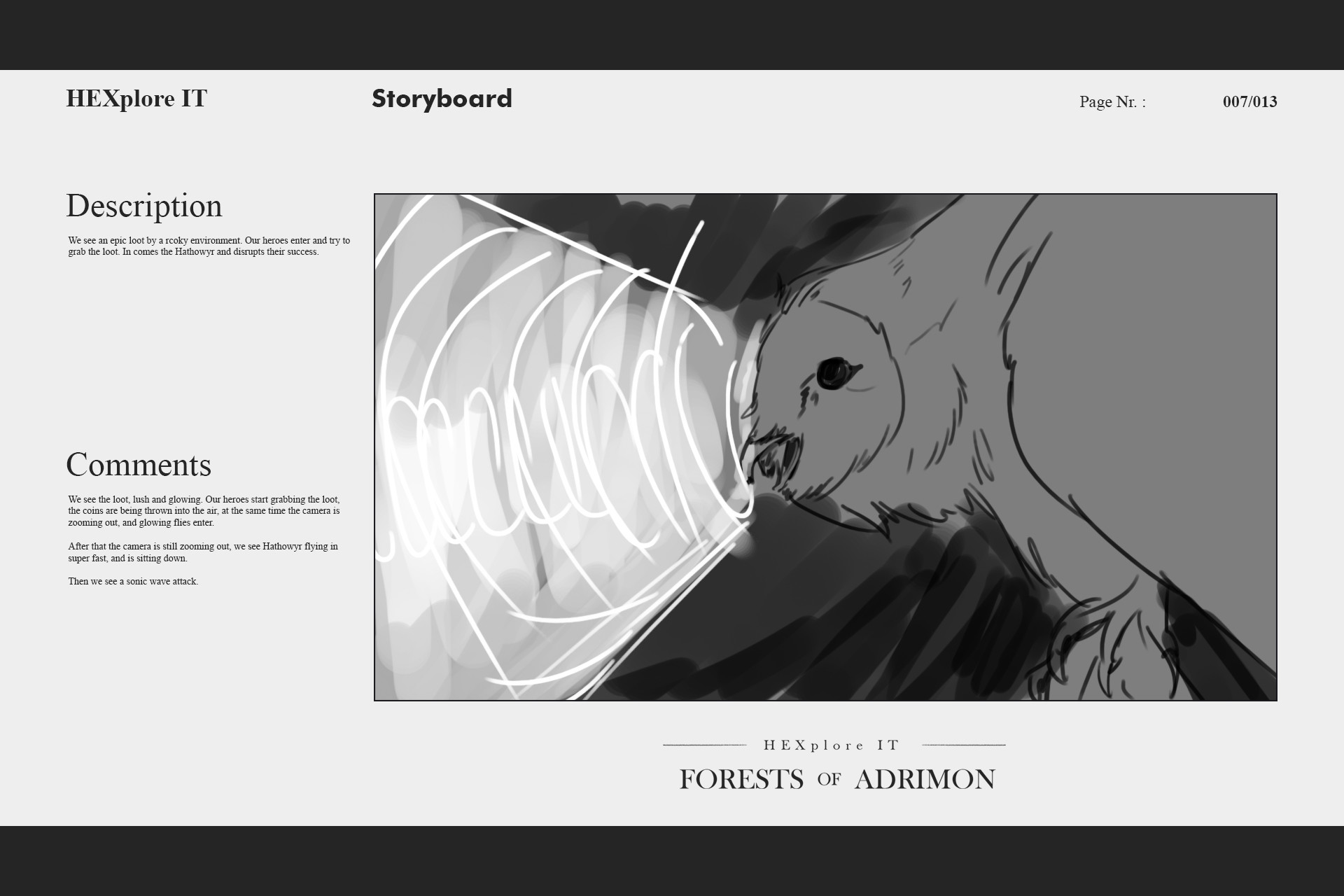 Konrx langa storyboard sketches 36