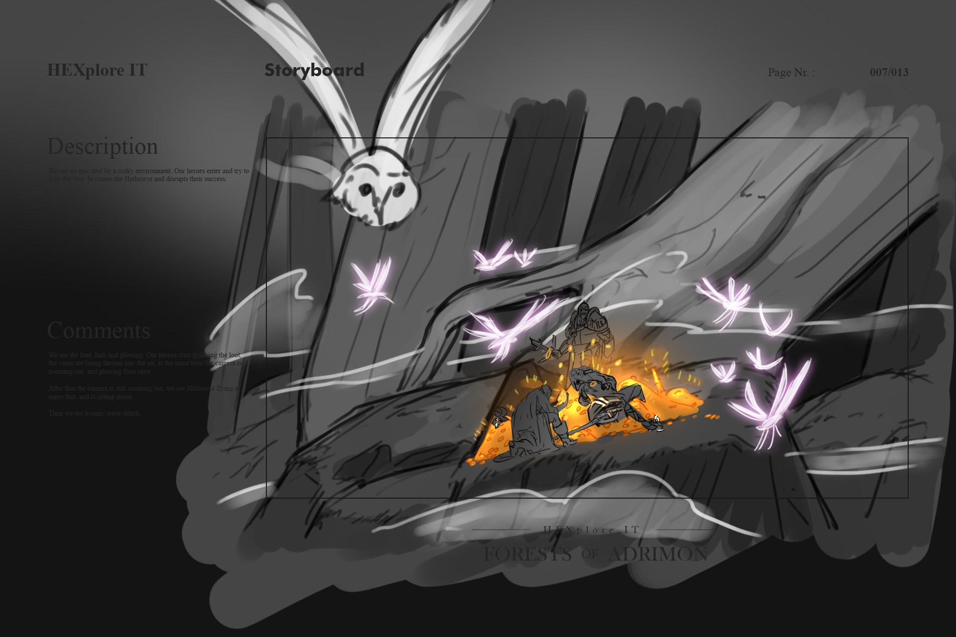 Konrx langa storyboard sketches 31