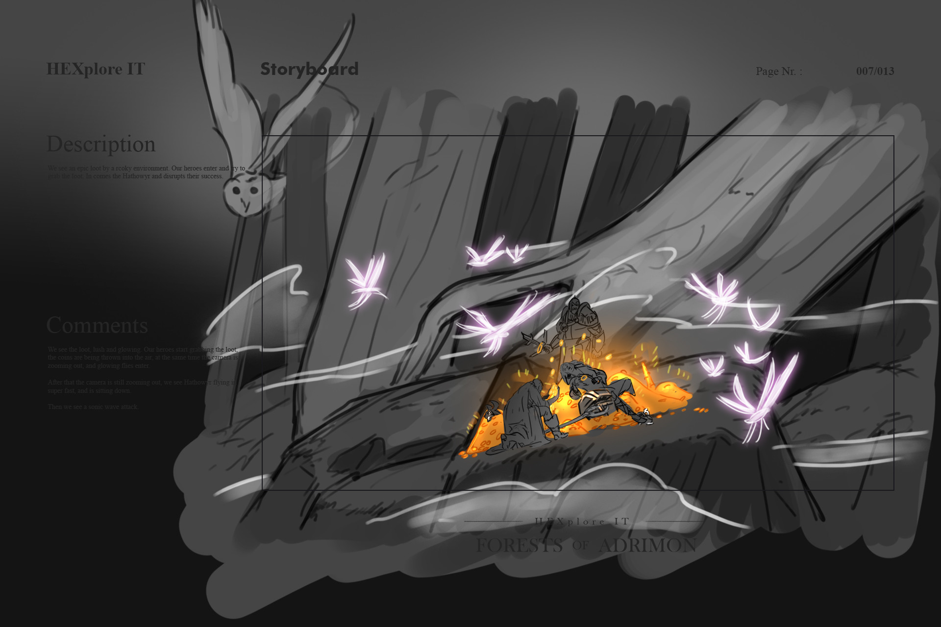 Konrx langa storyboard sketches 29