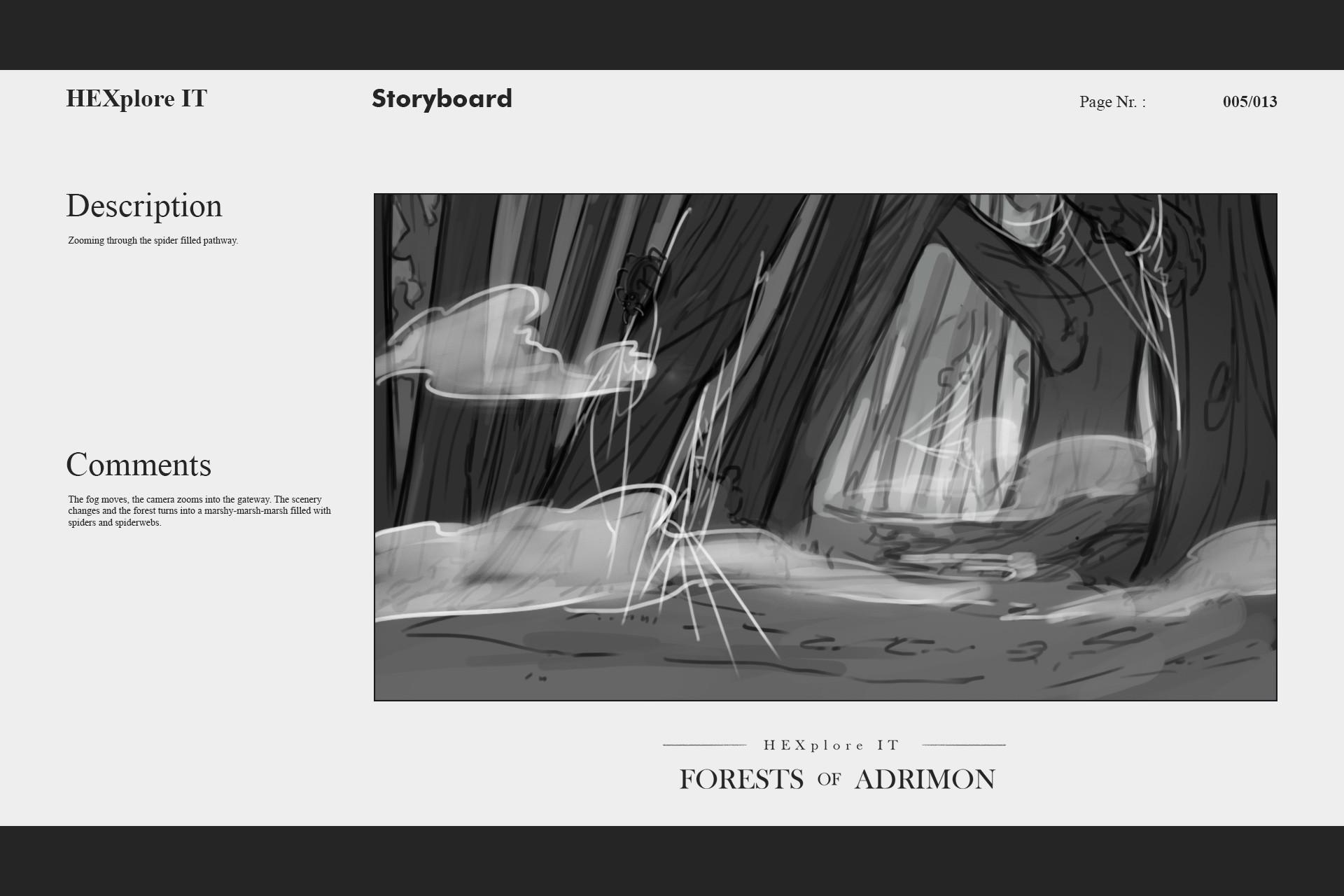 Konrx langa storyboard sketches 15