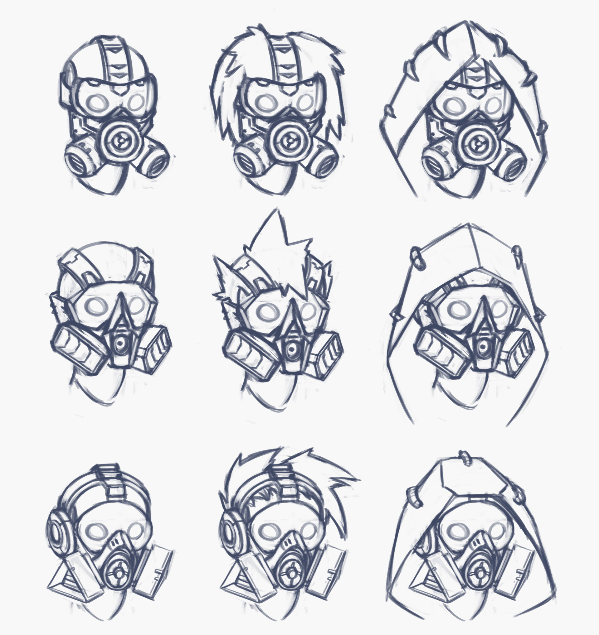 Head gear Concept