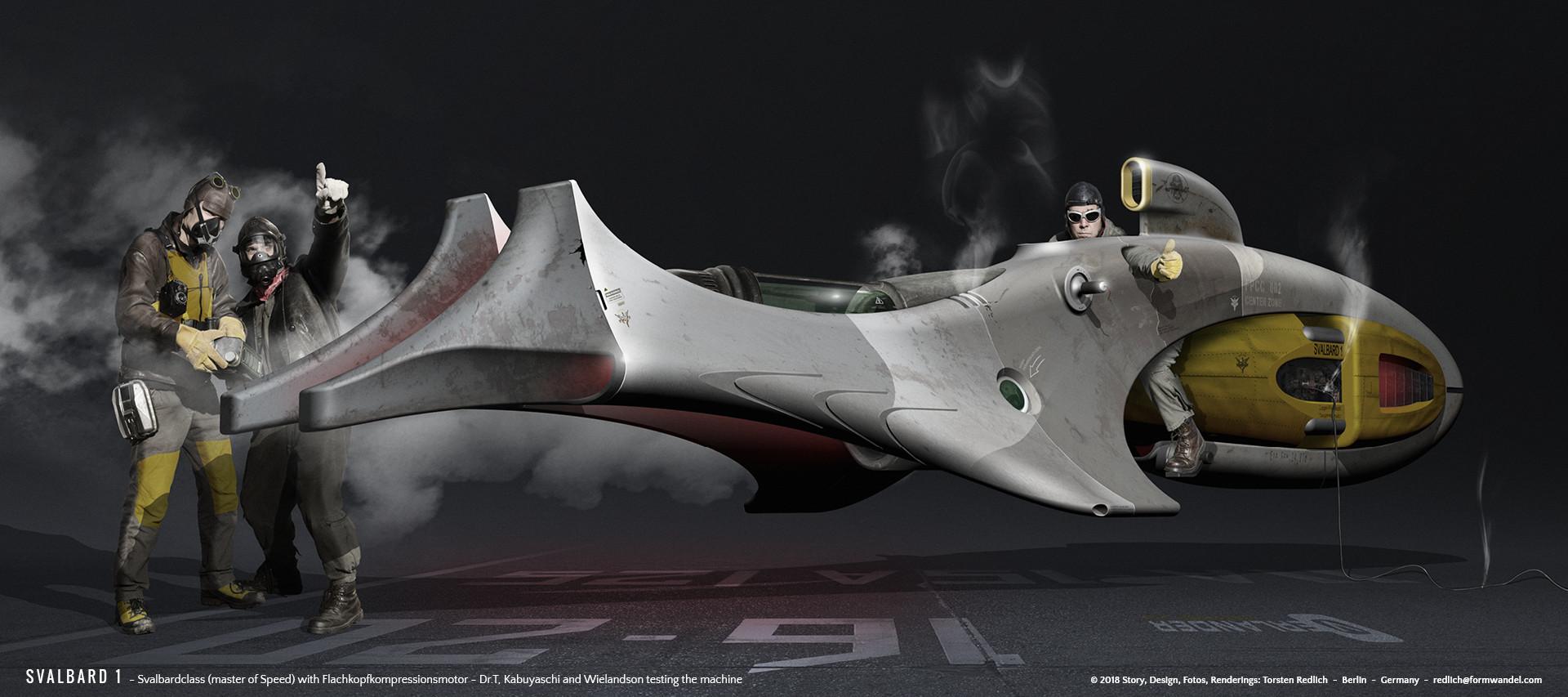 Svalbard 1 - master of Speed