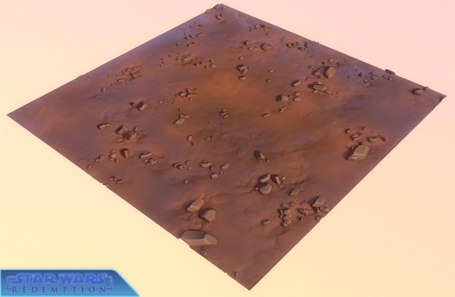 Dirt ground tile