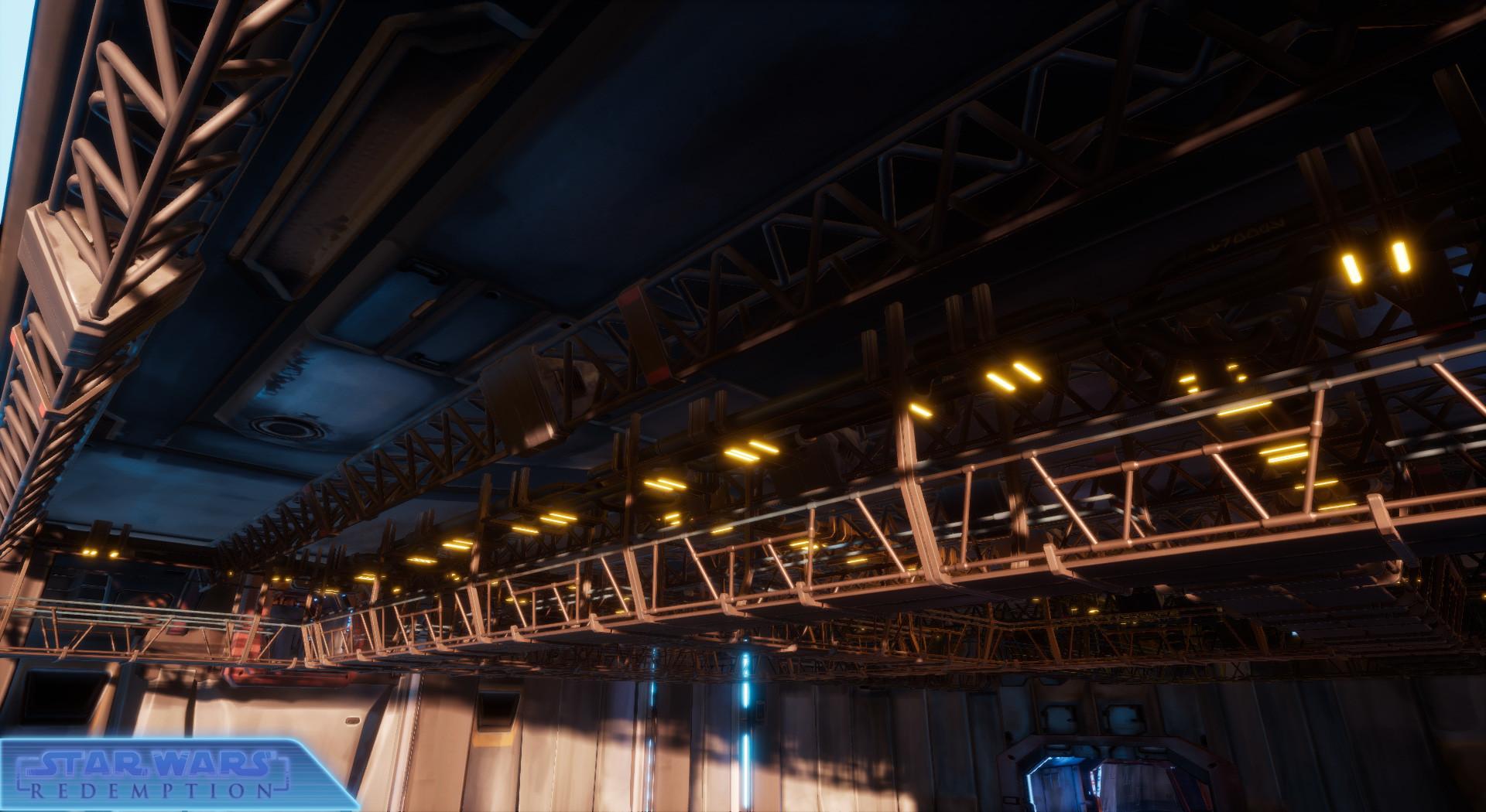 Etienne beschet hangar ceiling rework