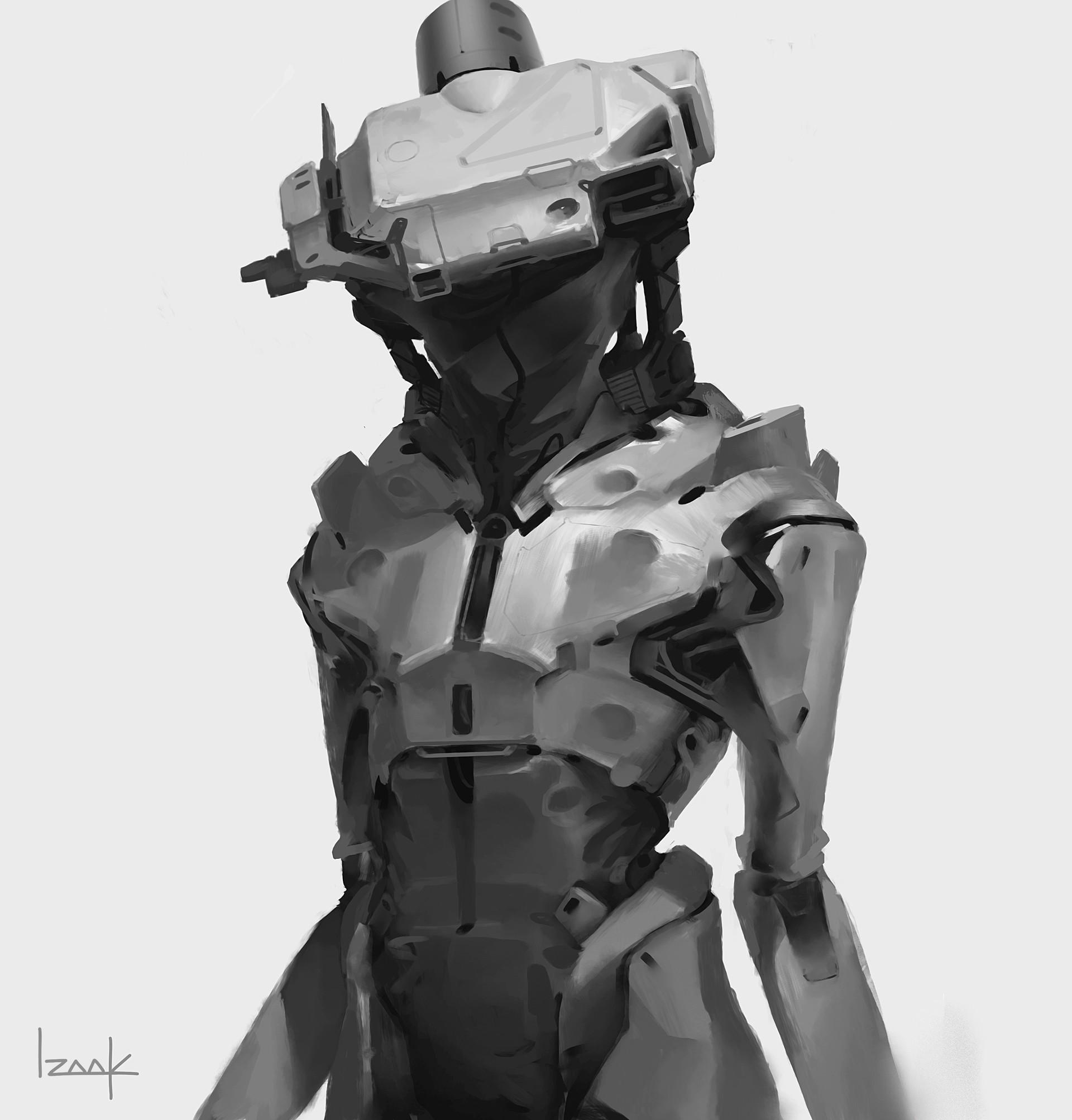 Izaak moody robot 3