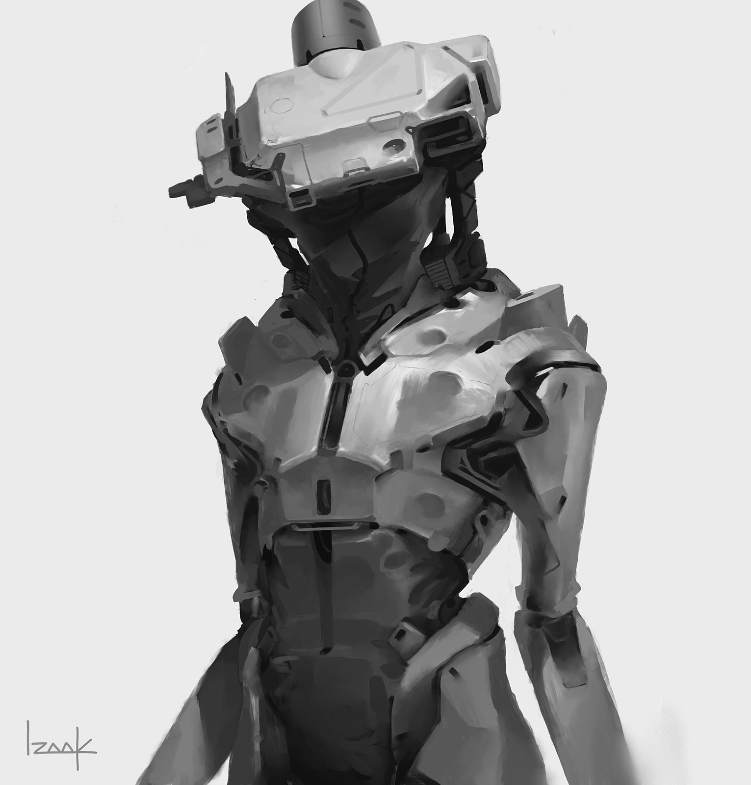 Humanoid 01 Sketch