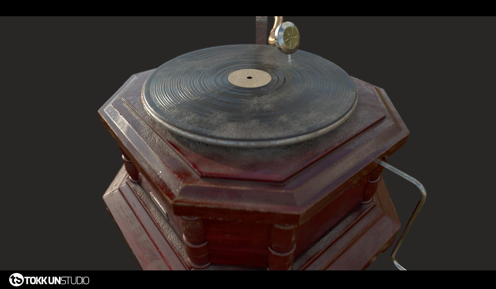 Tokkun studio tokkunstudio gramophone 06