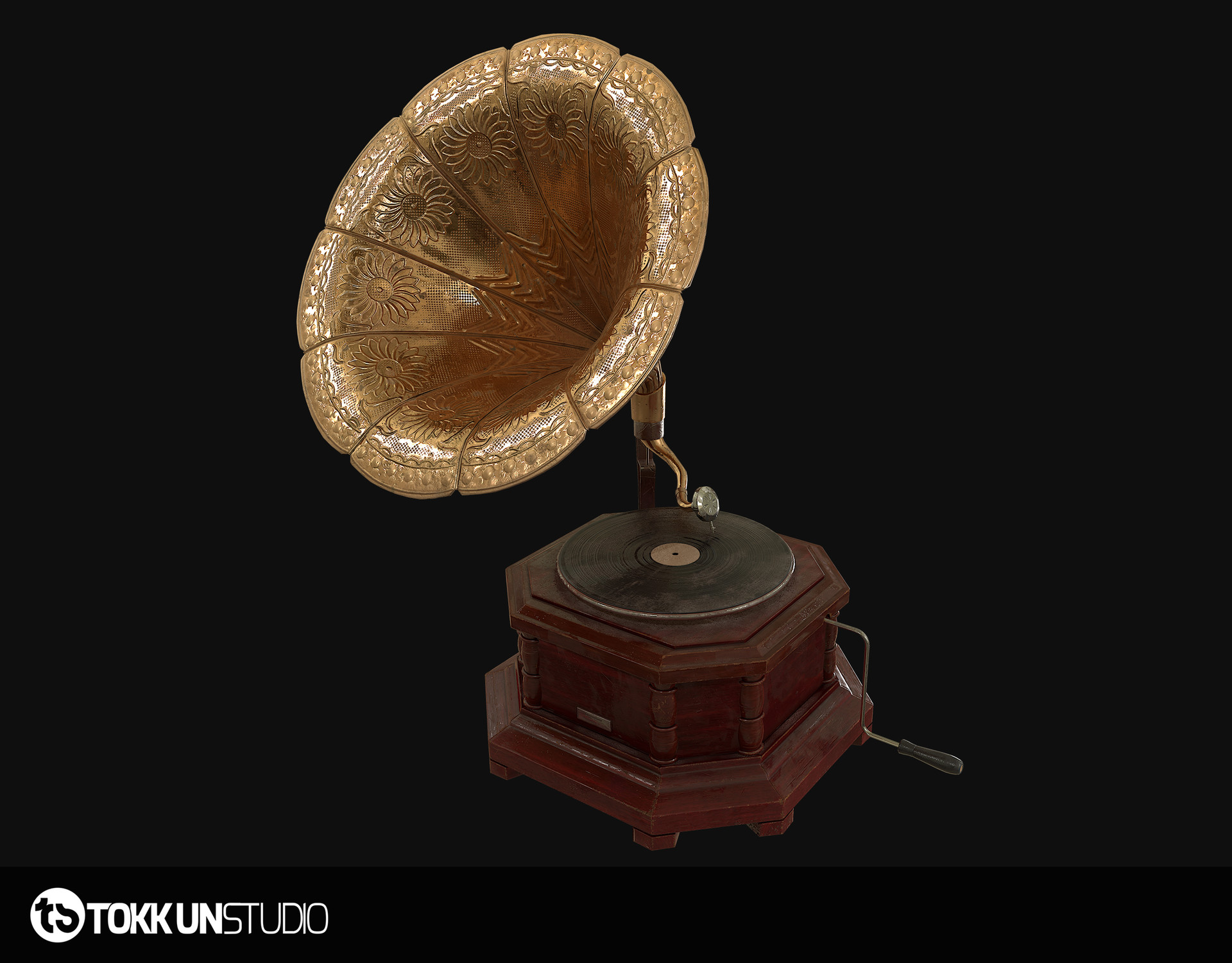 Tokkun studio beauty gramophone 02