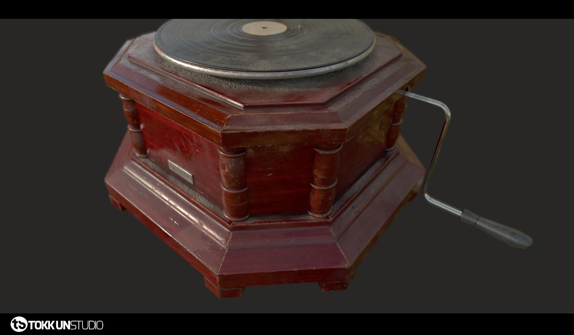 Tokkun studio tokkunstudio gramophone 01