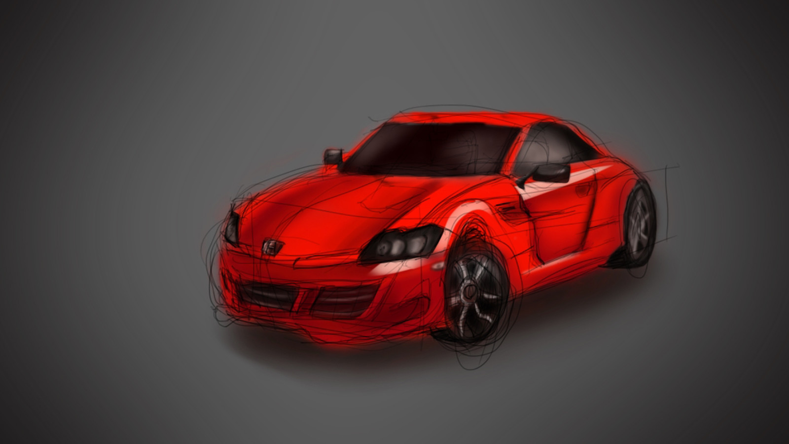 Concept of a car