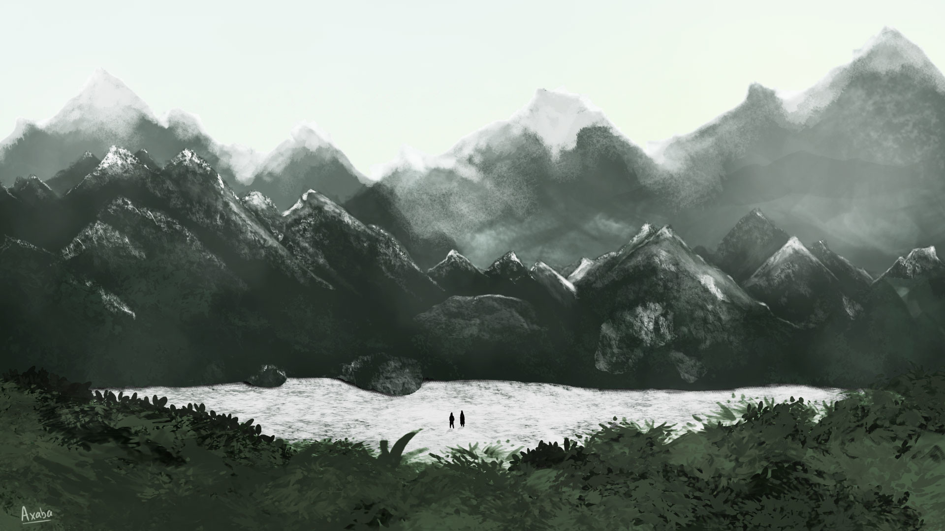 Natacha lefevre paysage montagne
