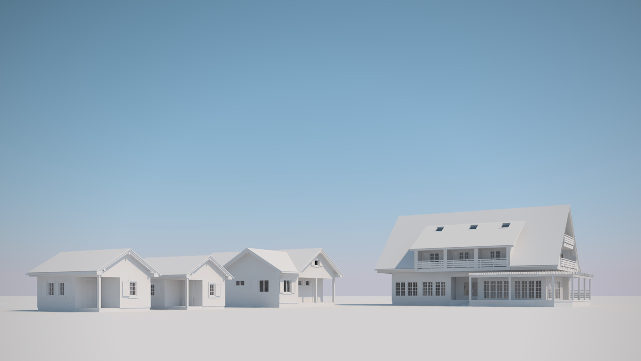 Alan kichl buildings clay render 05