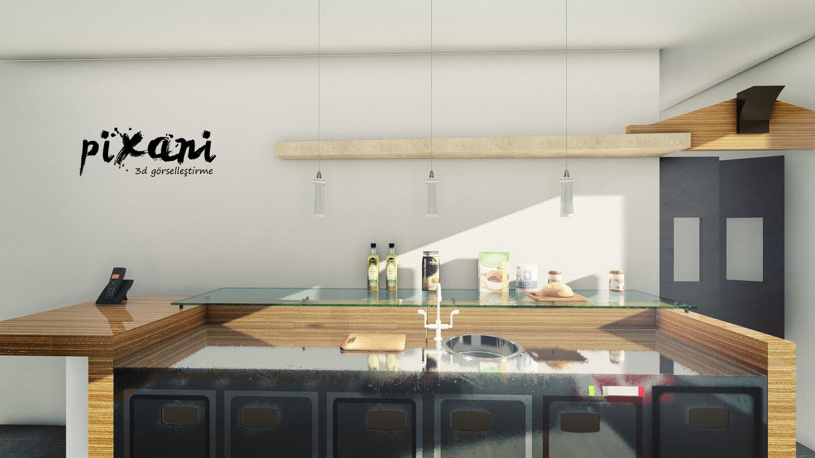 Karebant Kitchen  designed by Serdar Çakmak www.pix-ani.com