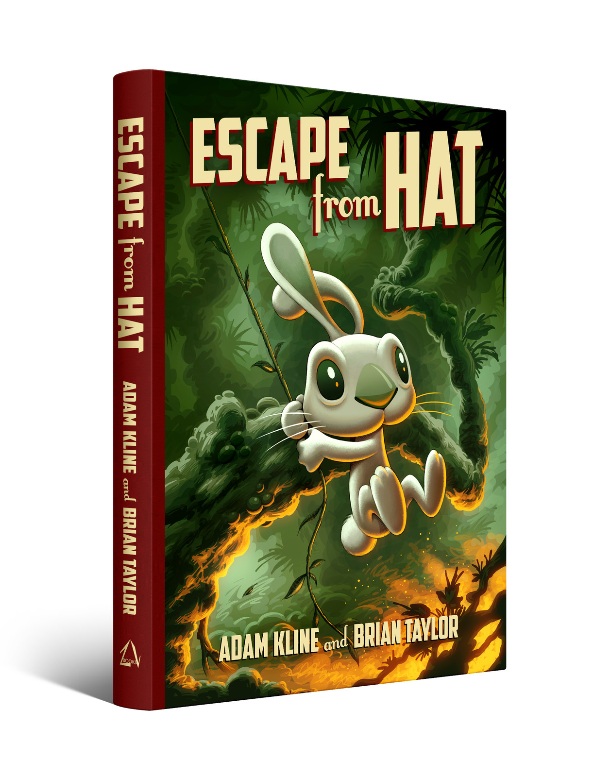 Escape from Hat book cover design