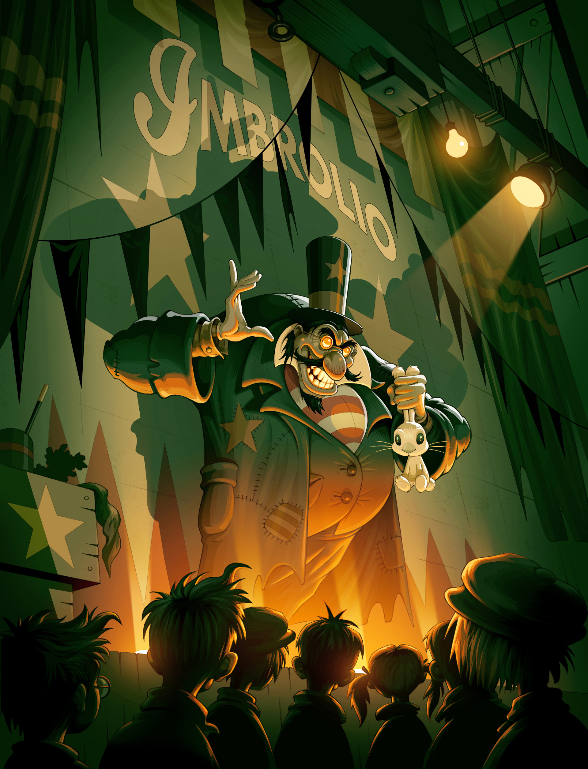 Escape from Hat book illustration