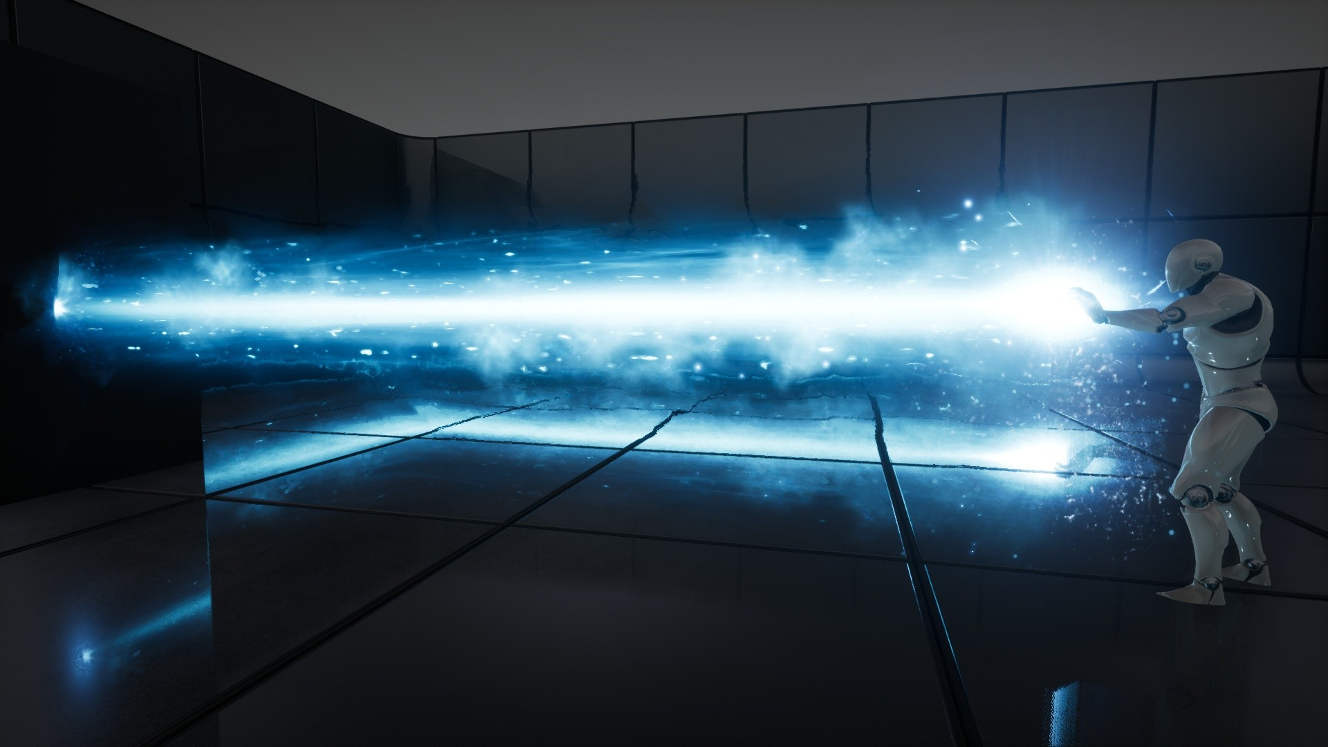 ArtStation - UE4 - VFX - Good Particle : Beam And Ray, U N E A S Y