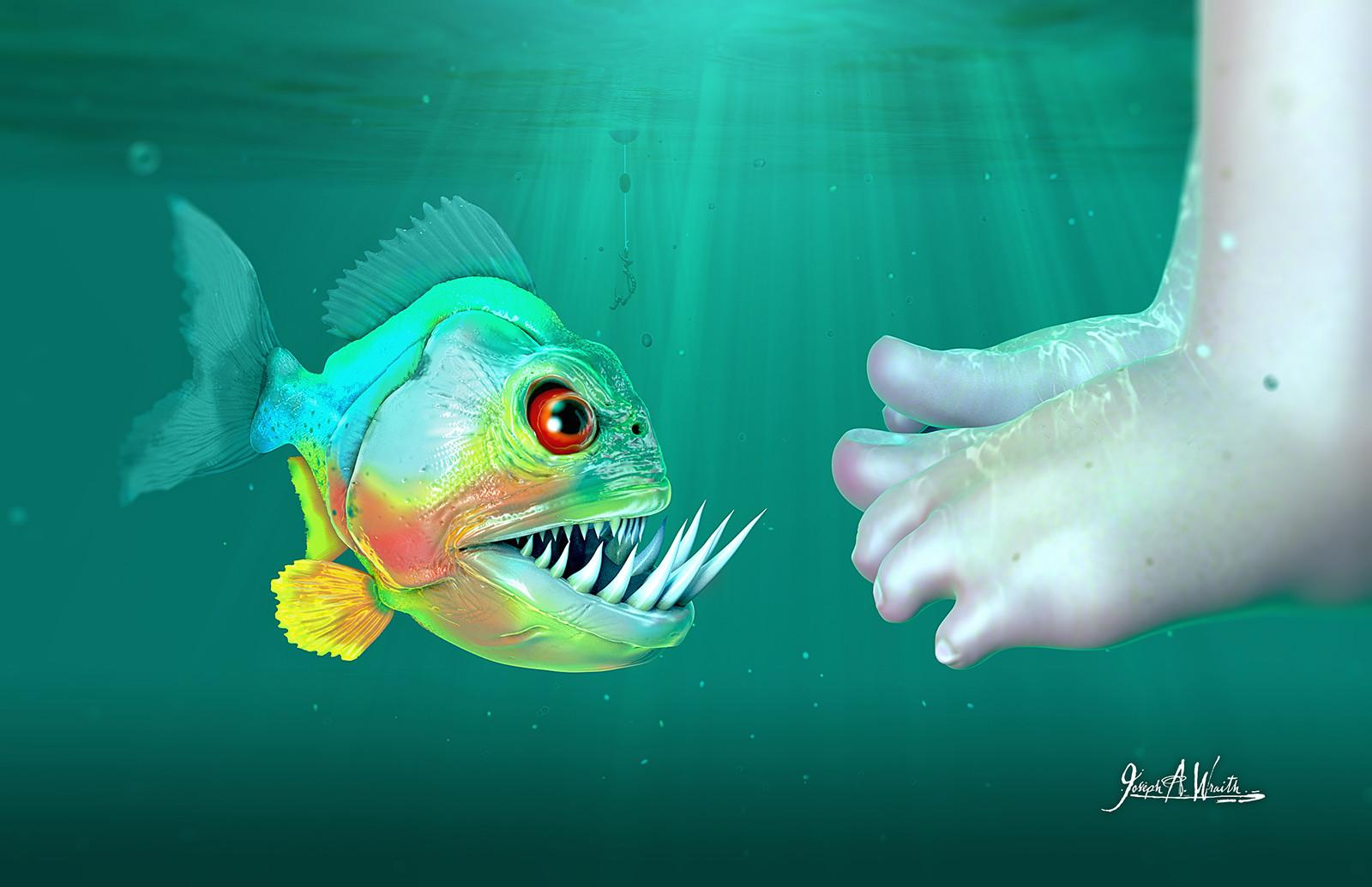 Joseph wraith fugly fish2 1600