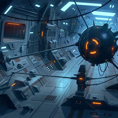 Brian taylor sci fi corridor