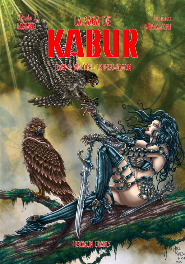 Mike ratera la saga de kabur t3 cover