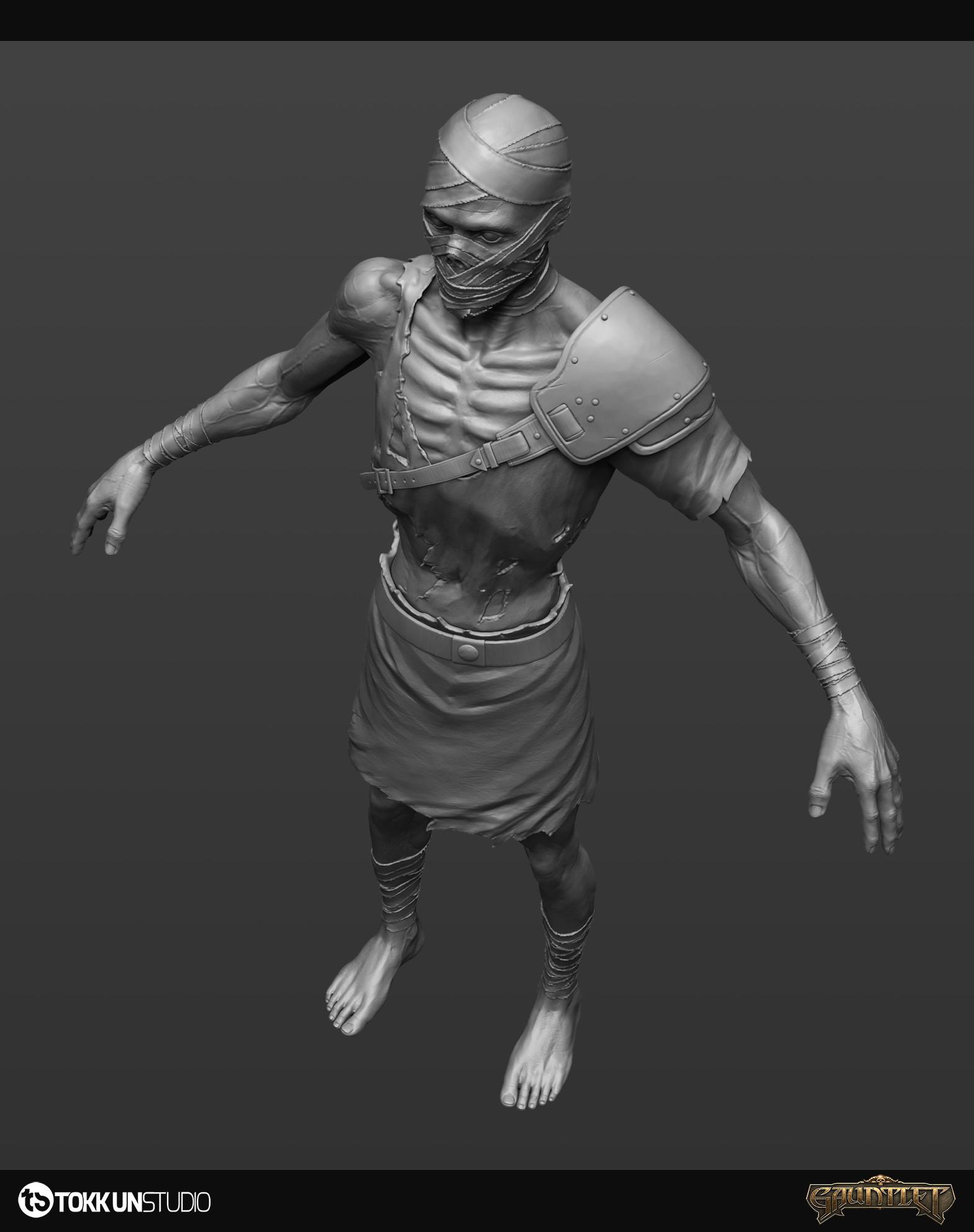 Tokkun studio gauntlet zombie beautyshots 005