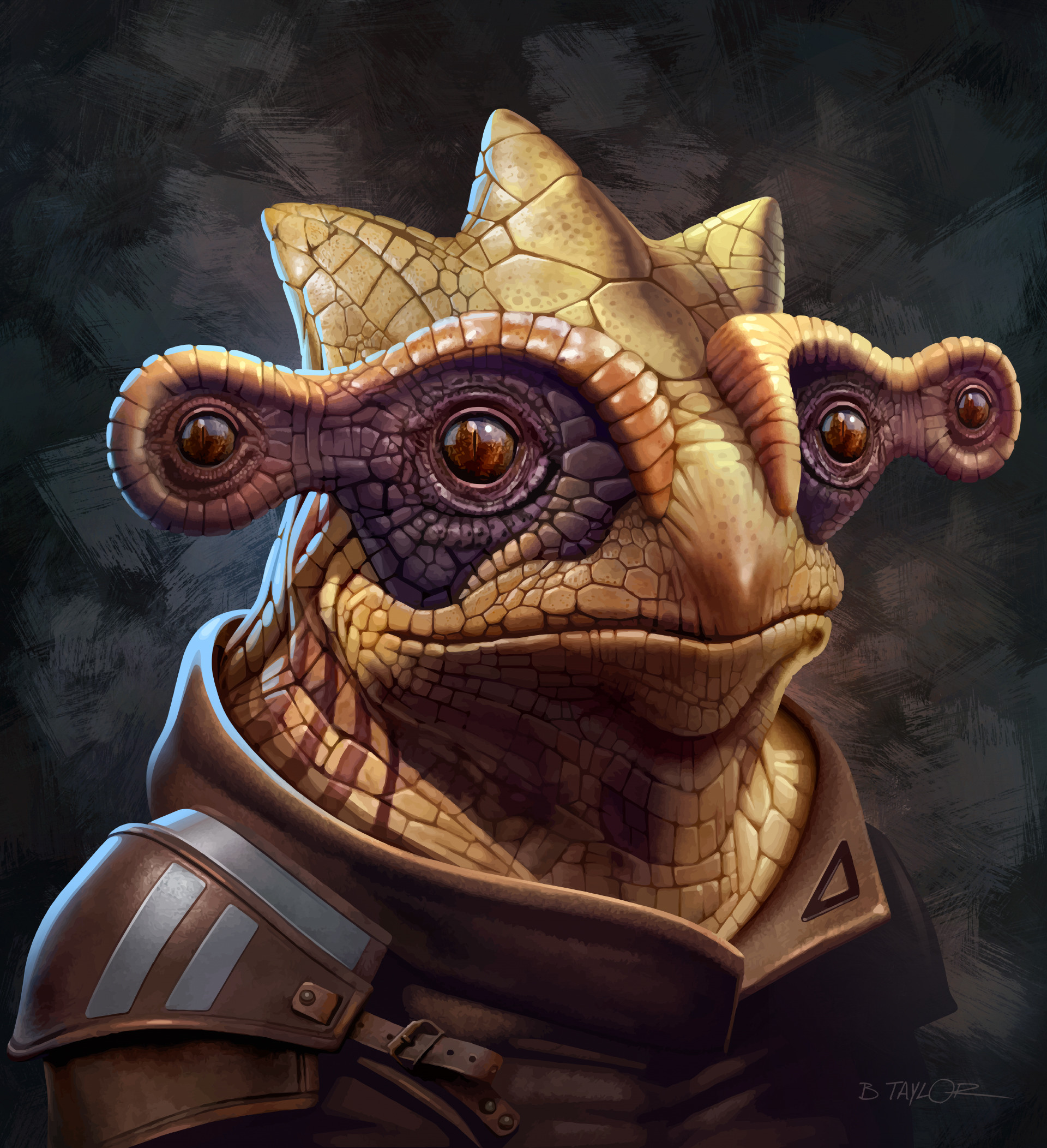 Portrait of a Gek